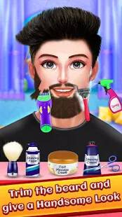 Celebrity Beard Salon Makeover - Indian Salon Game