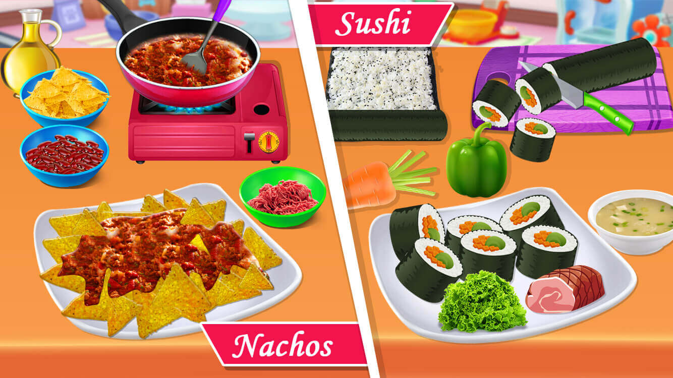 Fast Food Restaurant - Cooking Game