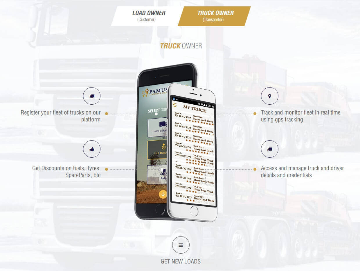Logistcs Service Website