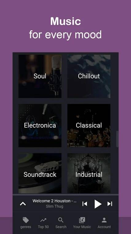Music Streaming App